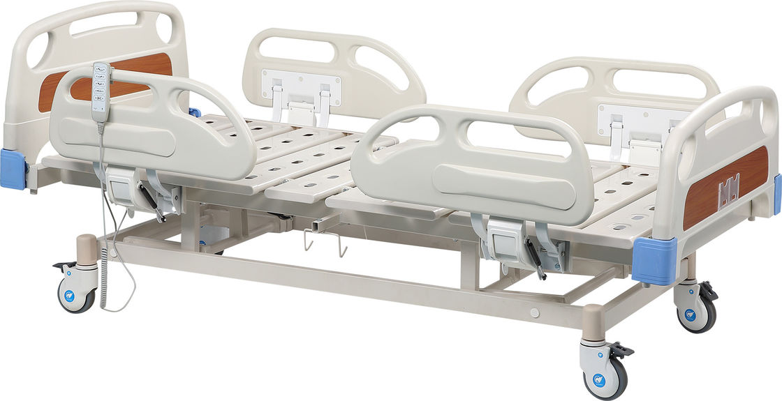 OEM Five Function Remote Hospital Bed For ICU Medical Furniture
