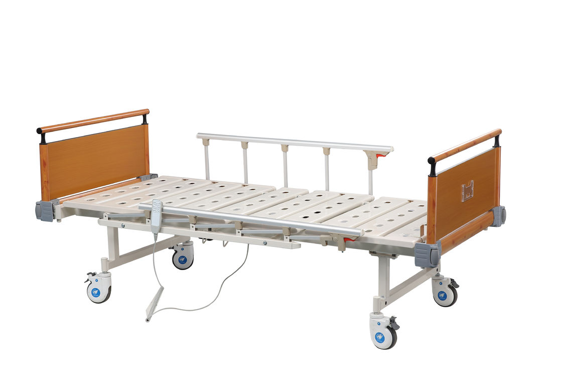 Patient Room Medical Hospital Bed For Nursing Care / Clinic , Linak Motor